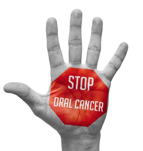 oral cancer awareness graphic